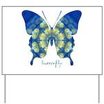 Samadhi Butterfly Yard Sign