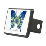 Samadhi Butterfly Rectangular Hitch Cover