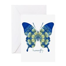 Samadhi Butterfly Greeting Card