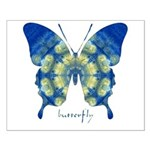 Samadhi Butterfly Small Poster