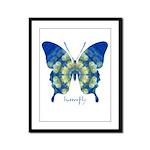 Samadhi Butterfly Framed Panel Print