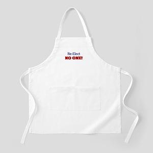 Re-Elect NO ONE! BBQ Apron