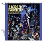 New! Bride Of Frankenstein Shower Curtain