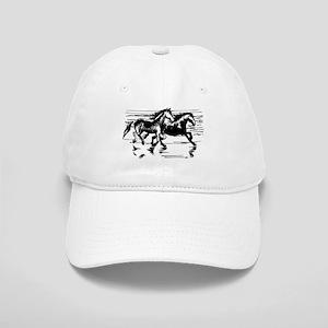 HORSES ON BEACH Cap