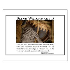 ID Blind Watchmaker Posters