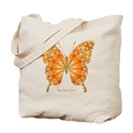 Precious Butterfly Tote Bag