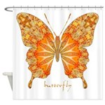 Precious Butterfly Shower Curtain