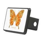 Precious Butterfly Rectangular Hitch Cover