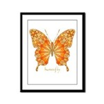 Precious Butterfly Framed Panel Print