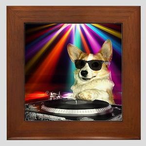 DJ Dott Framed Tile