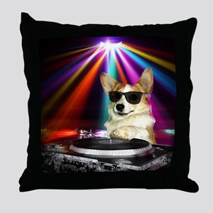 DJ Dott Throw Pillow
