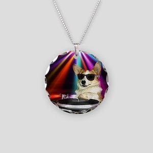 DJ Dott Necklace Circle Charm
