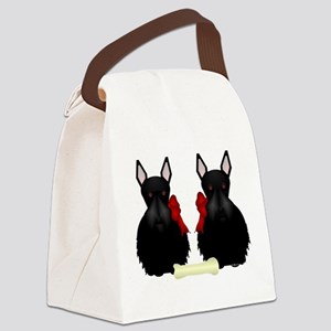 Scottish Terrier Canvas Lunch Bag