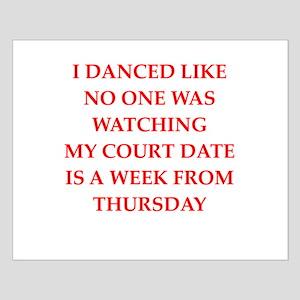 dancing Small Poster
