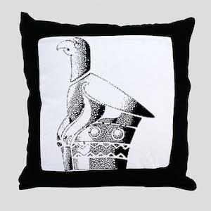 Great Zimbabwe Bird Throw Pillow