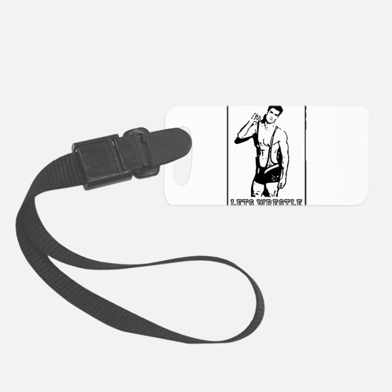Lets Wrestle Luggage Tag