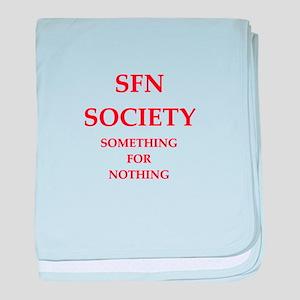 SFN baby blanket