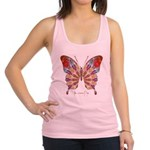 Ambitious Butterfly Racerback Tank Top