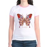 Ambitious Butterfly Jr. Ringer T-Shirt