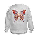 Ambitious Butterfly Kids Sweatshirt