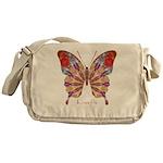 Ambitious Butterfly Messenger Bag