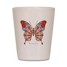 Ambitious Butterfly Shot Glass