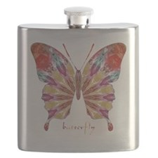 Ambitious Butterfly Flask