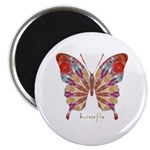 Ambitious Butterfly Magnet