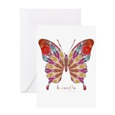 Ambitious Butterfly Greeting Card