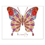 Ambitious Butterfly Small Poster
