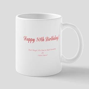 50th Birthday Get a Colonoscopy Stop Colon Cancer