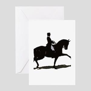 Elegant Dressage Greeting Card