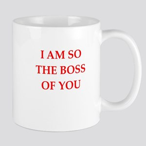 boss joke Mug