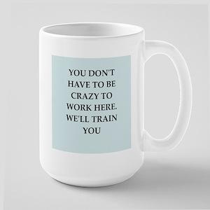 WORK2 Large Mug