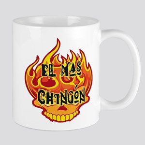 El Mas Chingon Skull Mug