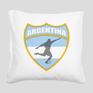 argentina Square Canvas Pillow