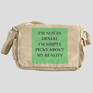 denial Messenger Bag