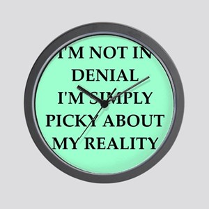 denial Wall Clock