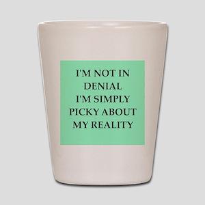 denial Shot Glass