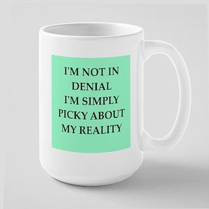 denial Large Mug