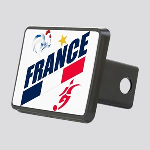 France World Cup Soccer Rectangular Hitch Cover