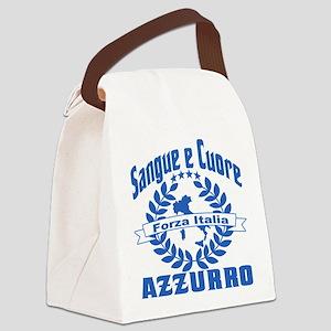 azzurri Canvas Lunch Bag