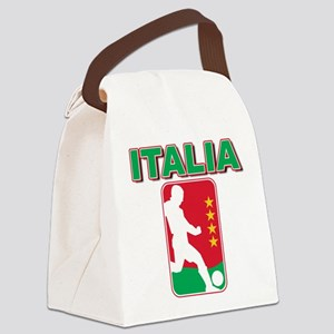 azzurri Canvas Lunch Bag