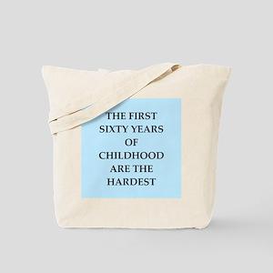 birthday joke Tote Bag