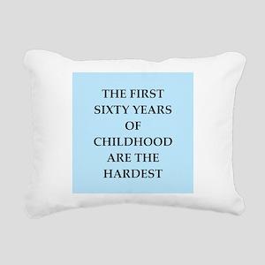 birthday joke Rectangular Canvas Pillow