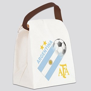 Argentina(blk) Canvas Lunch Bag