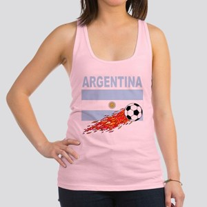 Argentina(blk) Racerback Tank Top