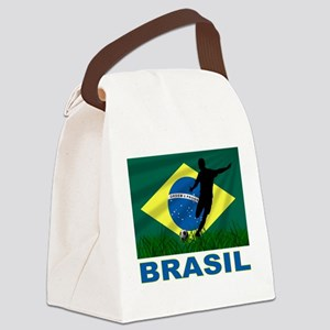 Brazil Canvas Lunch Bag