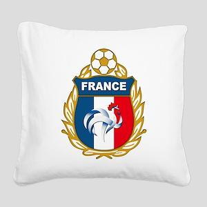 france Square Canvas Pillow