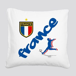 france Square Canvas Pillow